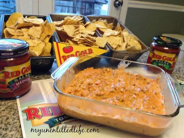 not your mama's red gold rotel dip recipe
