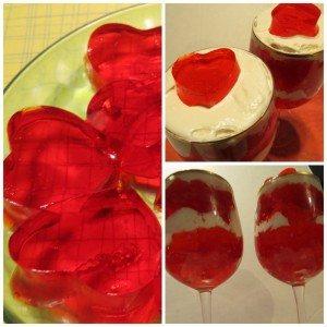 valentines jello