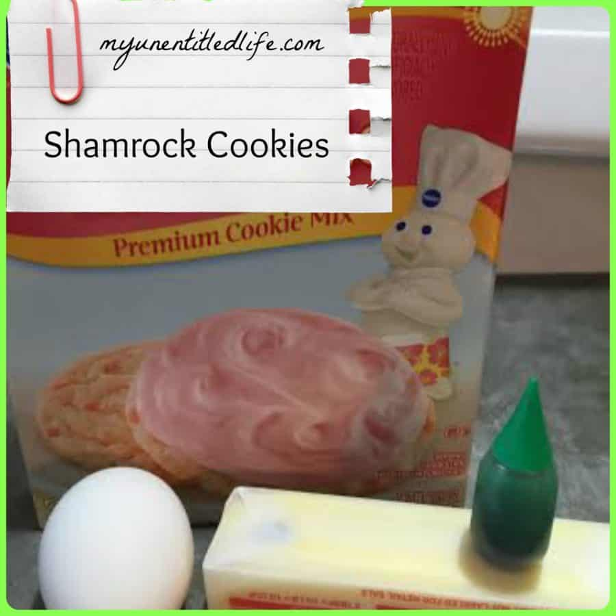 shamrock cookies without a cookie cutter