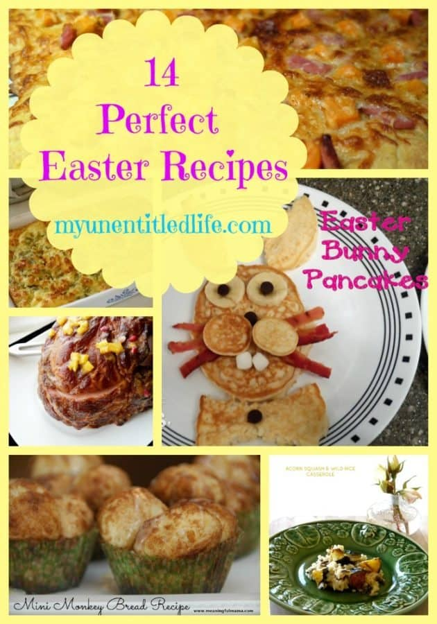 14 Perfect Easter Recipes