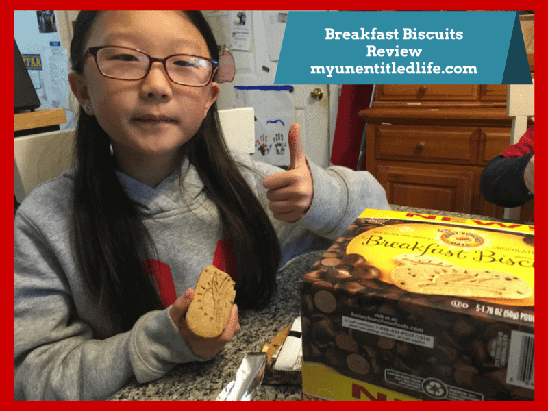 Breakfast Biscuits Review honey bunches of oats