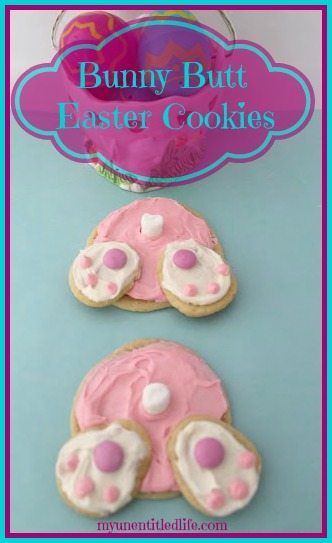 Bunny Butt Cookies Recipe