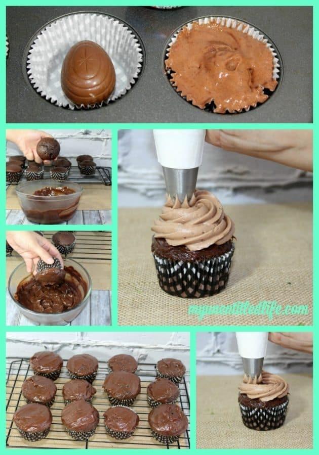 Cadbury Cream Egg Cupcakes Recipe