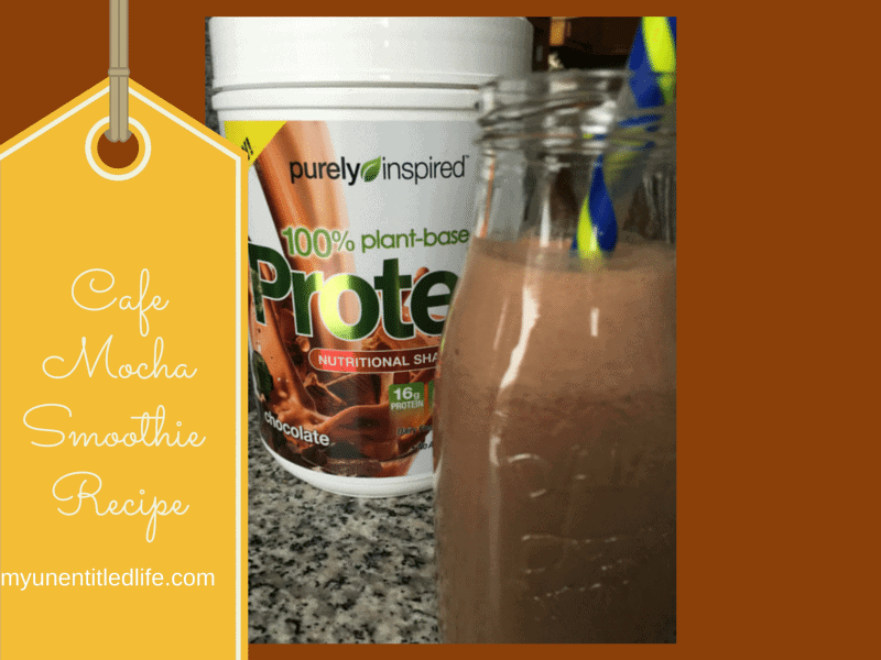 cafe mocha smoothie recipe