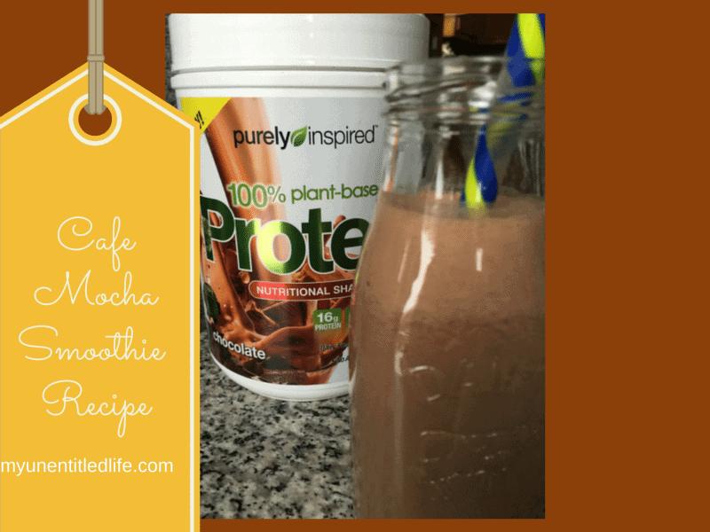 cafe mocha smoothie recipe