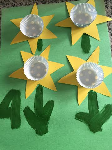 buttercup craft with cupcake liners