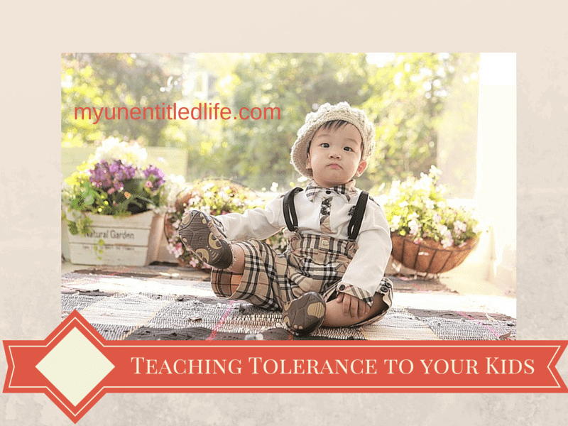 teaching tolerance to your kids