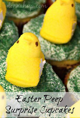 peeps cupcakes