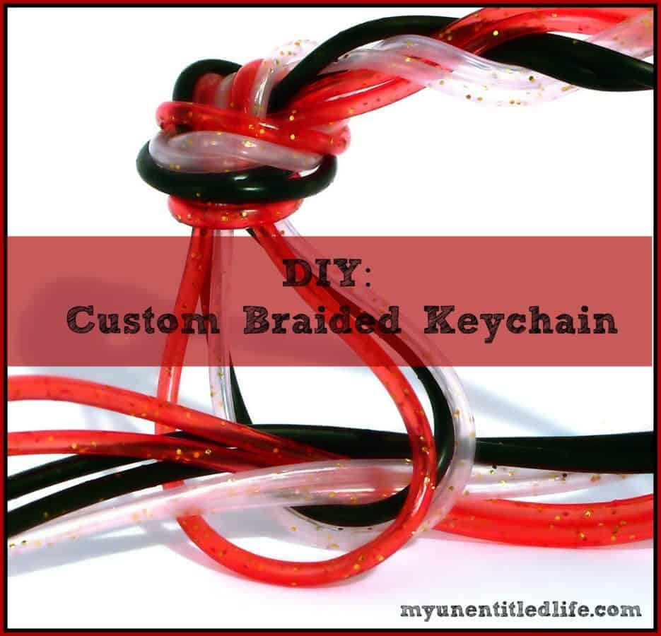 DIY: Custom Braided Keychain