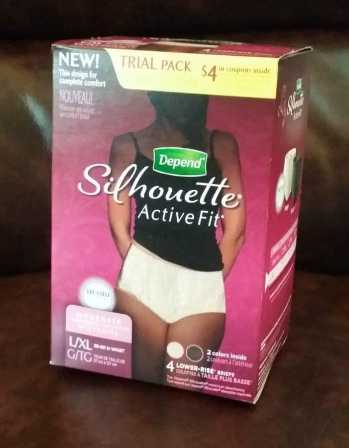Depend Silhouette Active Fit Briefs
