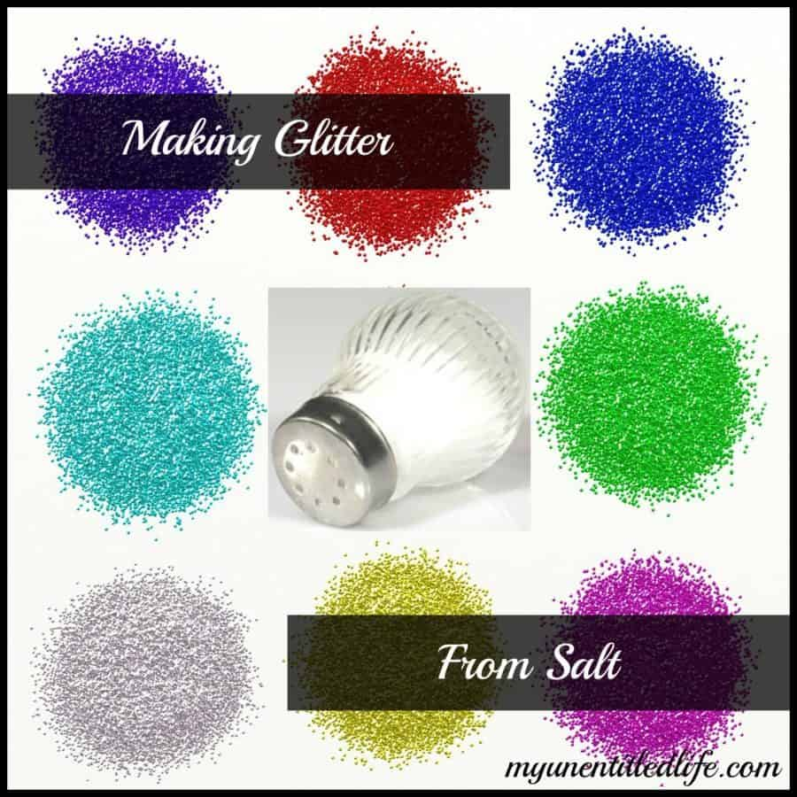 Making Glitter From Salt