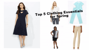 Top 5 Essential Clothing Pieces for Spring-collage