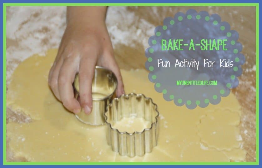 Bake A Shape: Fun Activity For Kids
