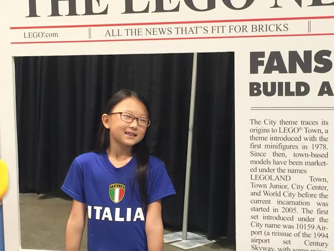 lego newspaper