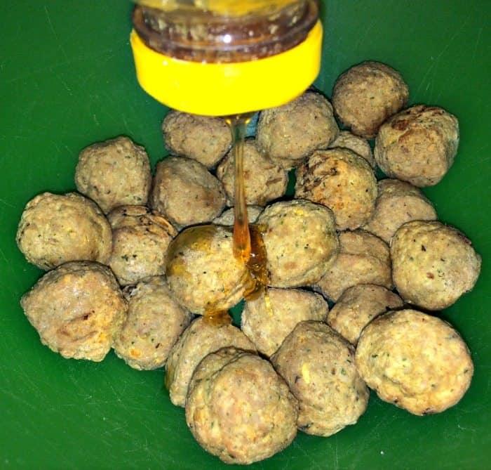 honey glazed meatballs