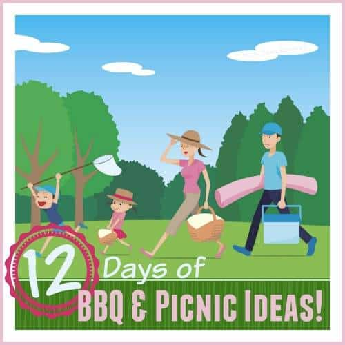 12 days of bbq and picnic ideas