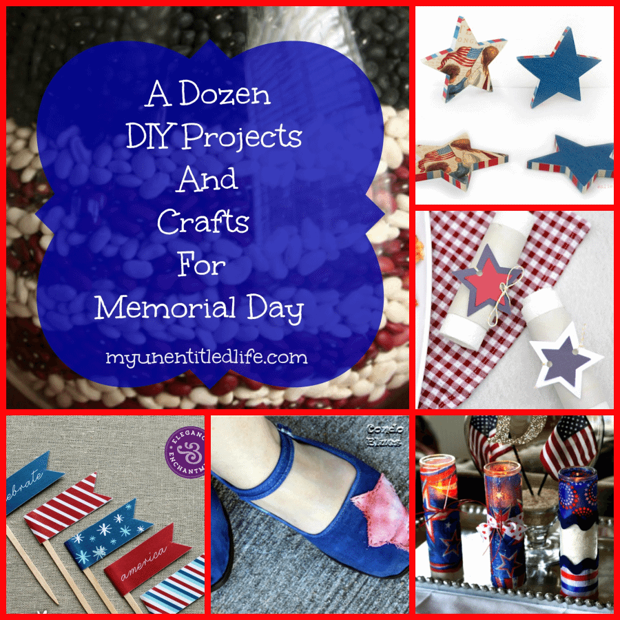 12 diy and crafts for Memorial Day