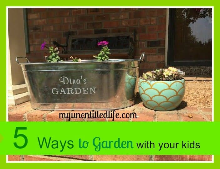 5 ways to garden with your kids