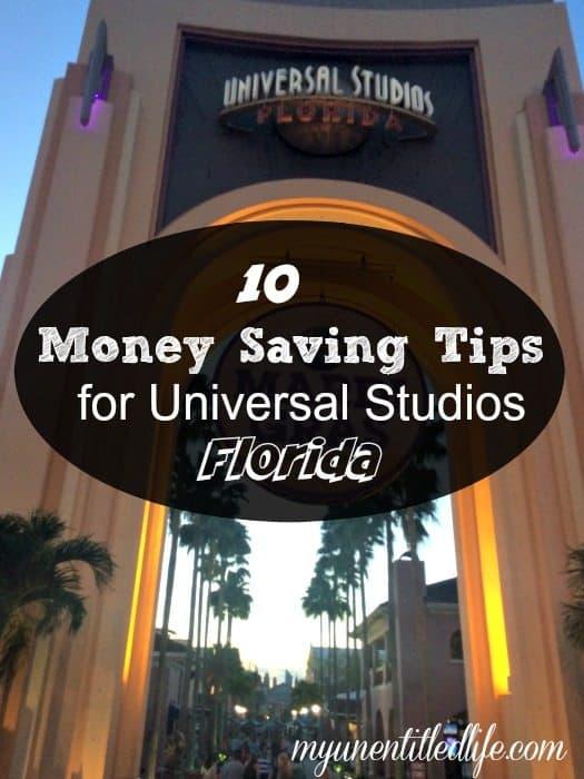 Universal Studios Money Saving Tips