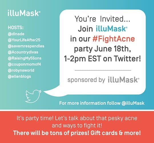 illuMask Twitter party invite
