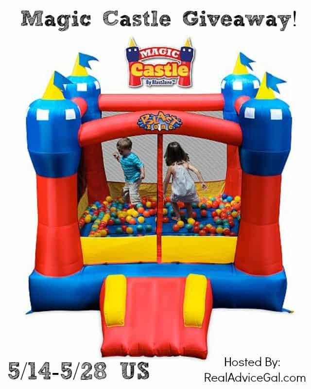 magic bouncy castle giveaway