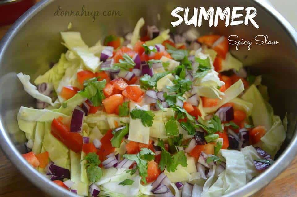 summer spicy slaw
