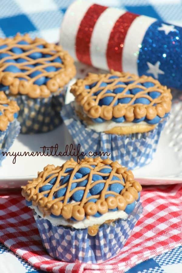 blueberry pie cupcake recipe