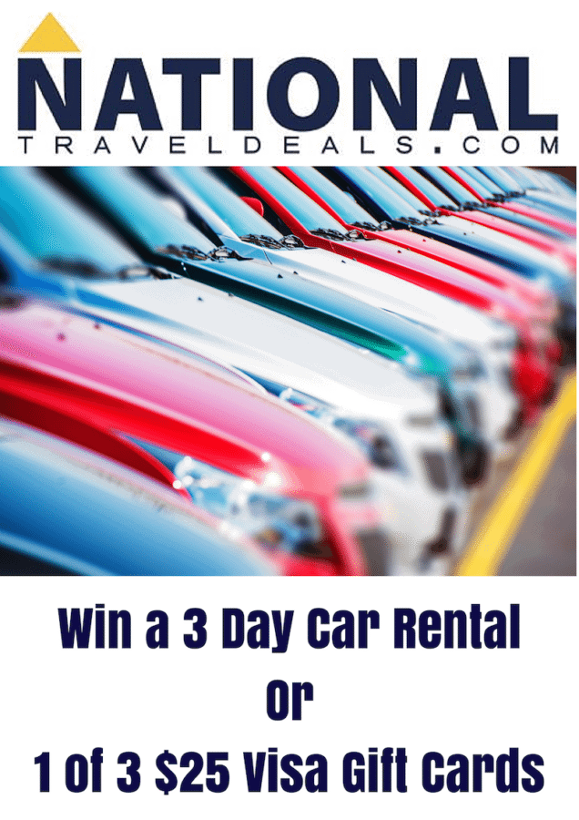 National Travel Deals giveaway