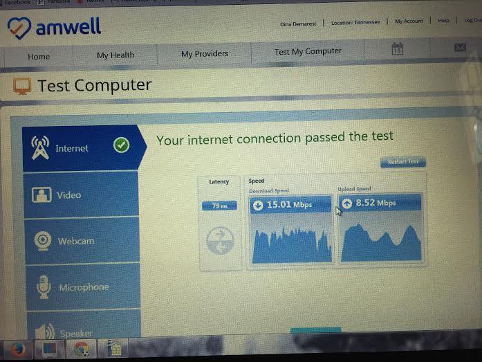amwell test