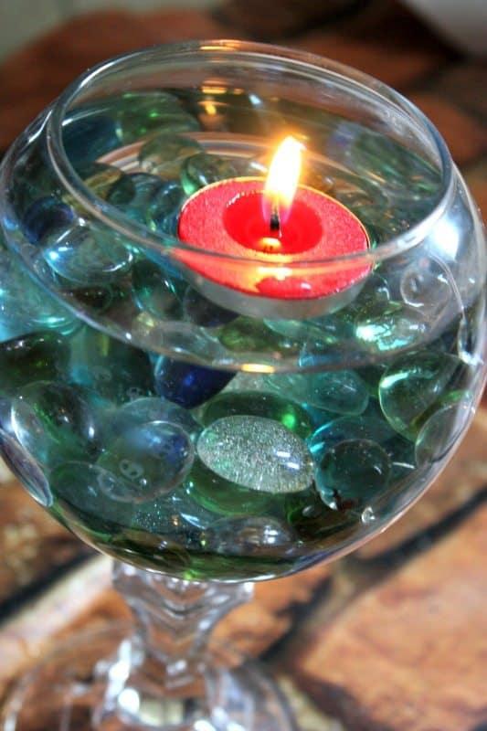 floatin candle holder