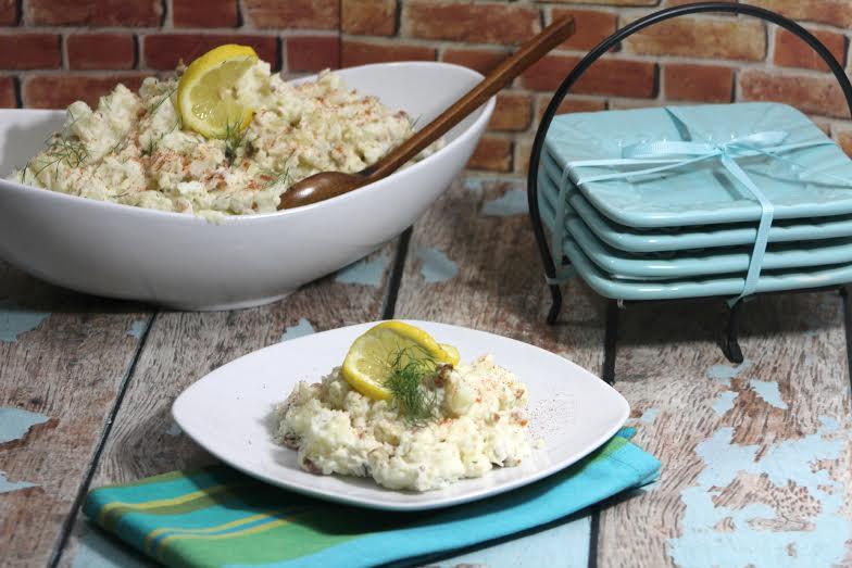 bacon potato salad with dill