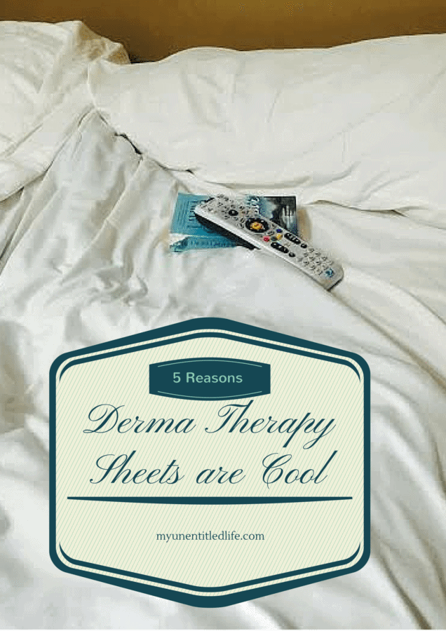 5 reasons DermaTherapy Sheets are cool