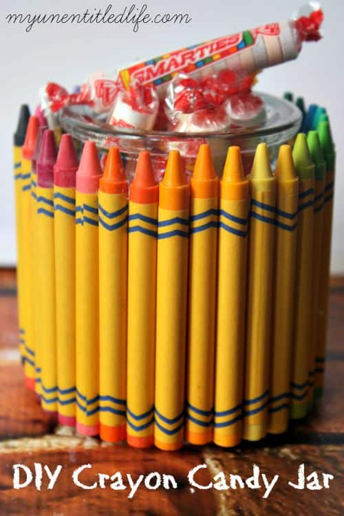 crayon candy jar