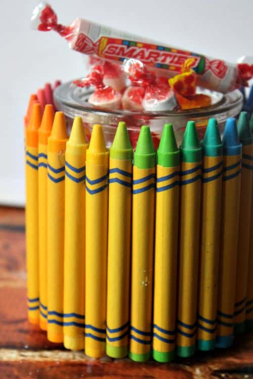 crayon jar for teachers