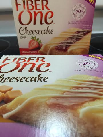 fiber one cheesecake bars review