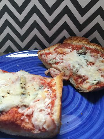 french bread pizza let's eat