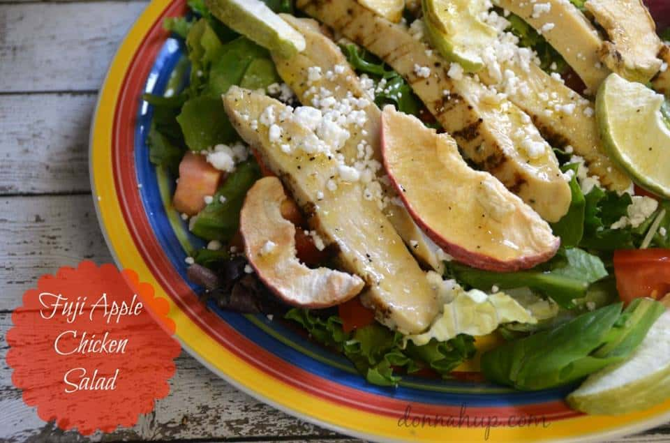 fuji apple chicken salad recipe