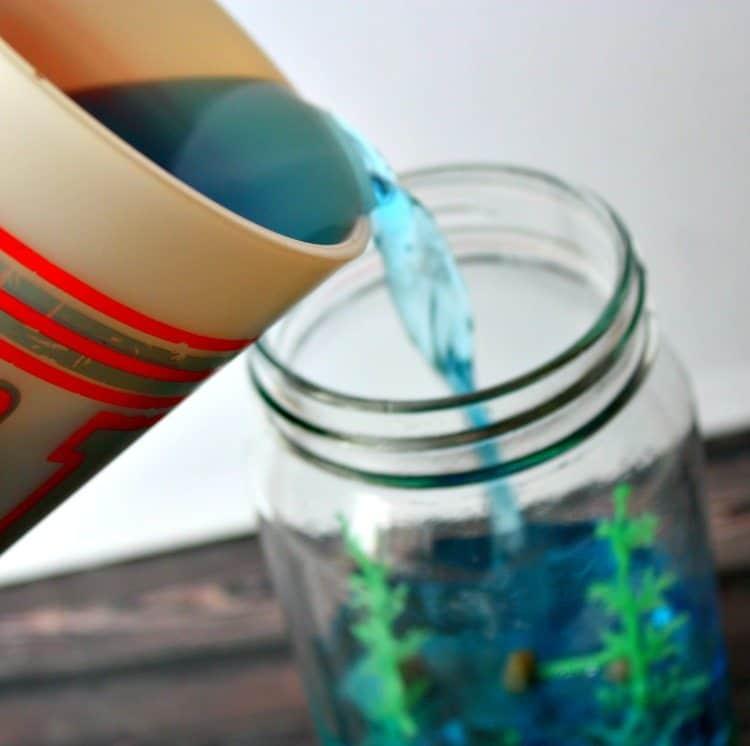 diy sensory jar