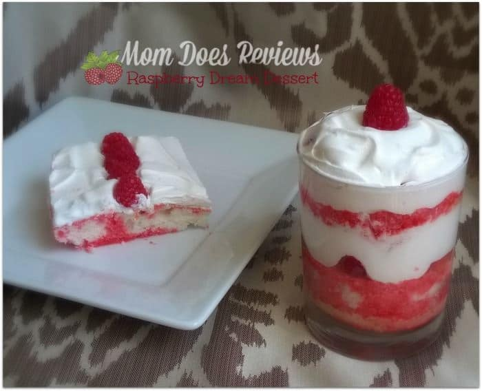 raspberry dream dessert