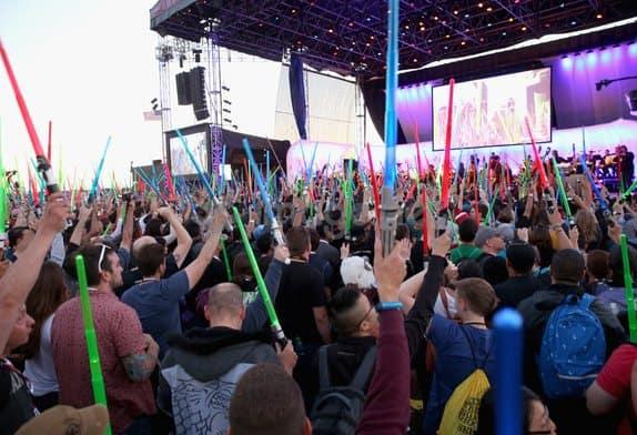 light saber tribute