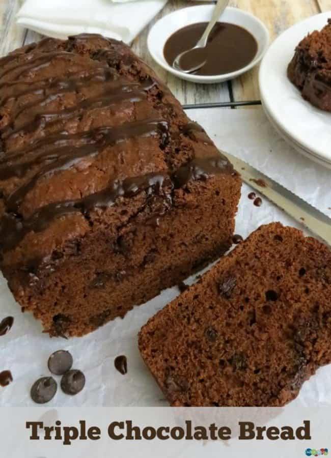 triple chocolate bread