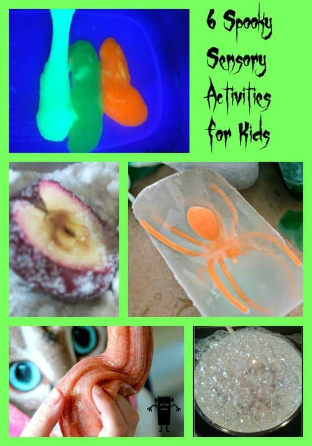 spooky sensory activities for kids