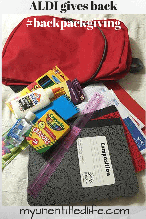donating school supplies is easy