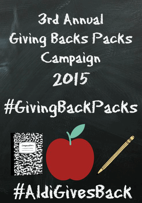 donating backpacks of school supplies