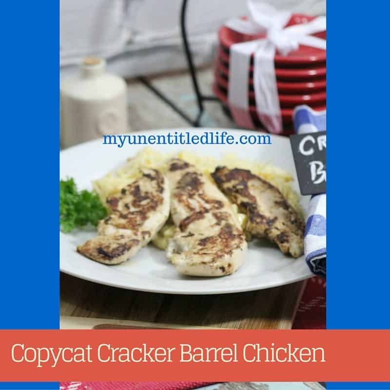 Copycat Cracker Barrel Chicken