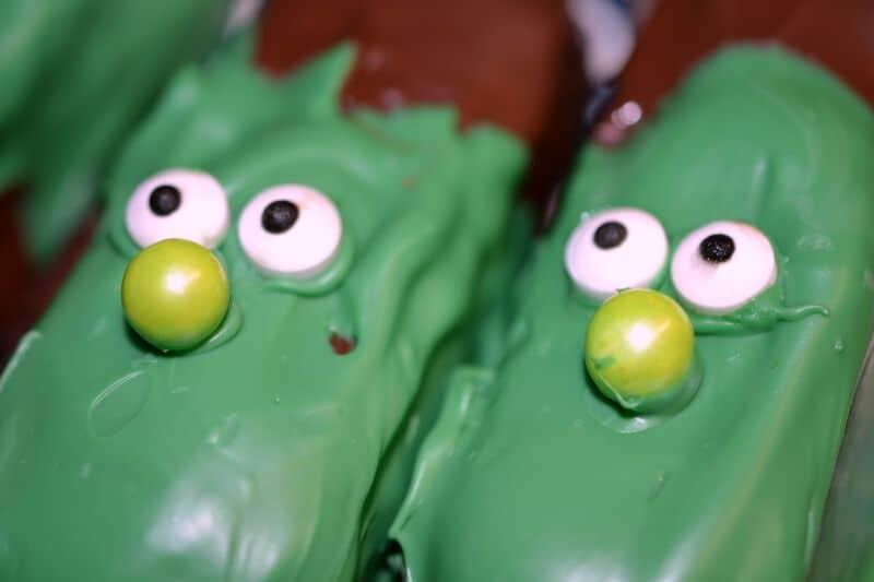 frankenstein treats add nose