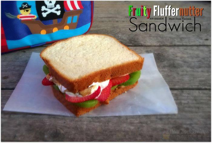 fruity fluffernutter sandwich