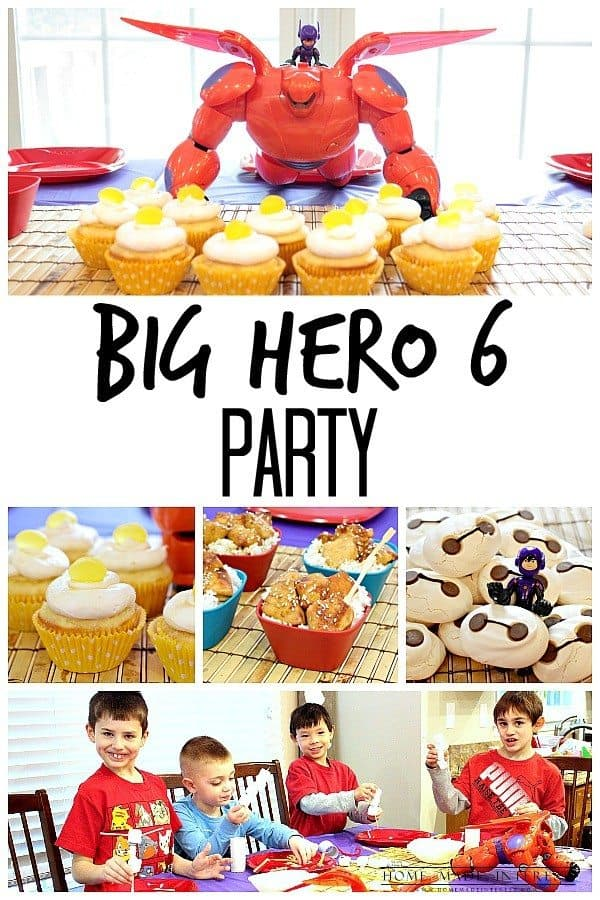 big hero 6 birthday party