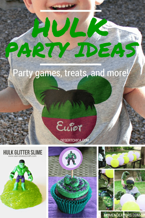 hulk party ideas