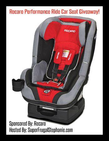 recaro car seat giveaway